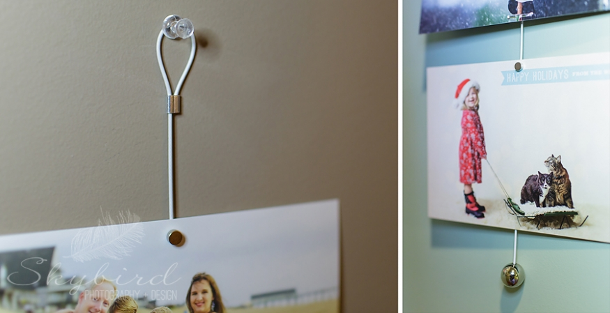 Product Spotlight Magnetic Wire Photo Hanger Display